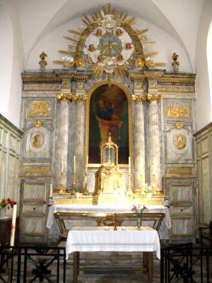 Retable église de Vy-les-Rupt